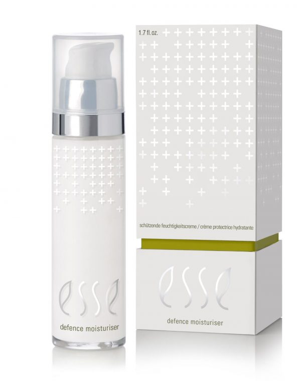 Esse Plus Defense moisturizer. Insideout by Sam.