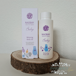 Naobay Baby Oil. Insideout by Sam
